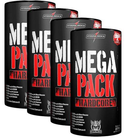 4e553d533 Kit 4x Mega Pack Hardcore (30 Packs) Integralmédica - Animal Pack ...