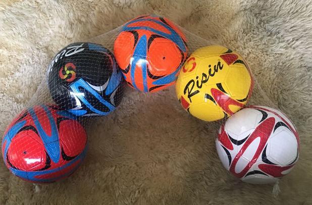 31f6b0731f KIT 5 Bolas de Capotão Atacado Futebol e Society - Rissin - Bolas ...