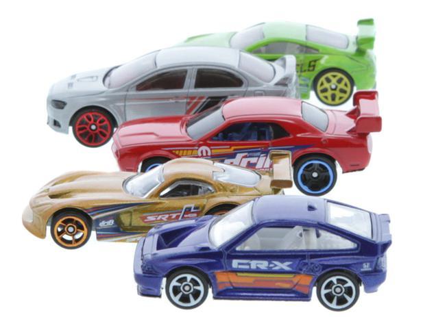 Kit 5 Carrinhos Hot Wheels – 1806 Mattel