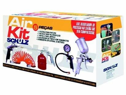 Imagem de Kit Acessórios Para Compressor - Schulz