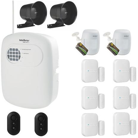 Imagem de Kit Alarme Sem Fio Intelbras com 8 Sensores