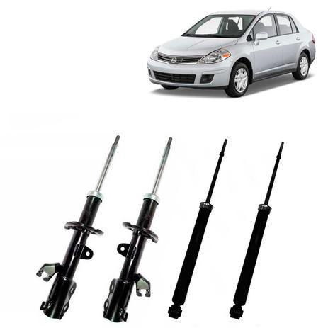 Kit Amortecedores Perfect Nissan Versa 2011 Em Diante