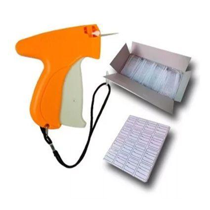 Imagem de Kit Aplicador Tag + 1000 Etiquetas + 5000 Pins