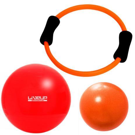 Kit Arco Flexivel + Over Ball 25 Cm + Bola Suica 45 Cm Liveup - Bola ... 7e58911e2427