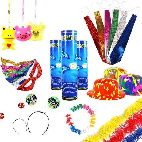 f14703d66 Kit Balada 15 Anos Neon Piscas 355 Itens - Aluá festas - Kit ...