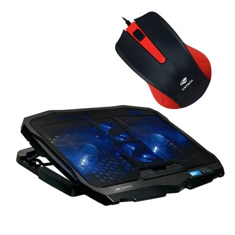 517c5d3788 Kit Base Notebook NBC-100 + Mouse USB MS-20RD - C3 tech - Acessórios ...