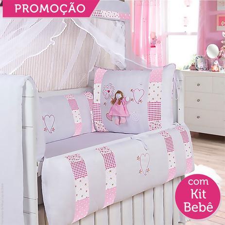 cb917289a7 Kit Berço Alice 19 Peças - Precious baby - Kits Enxoval para Berço ...