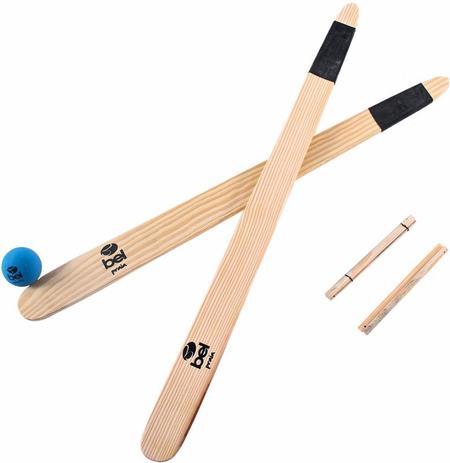 83ac86c80 Kit Bets Com Taco De Madeira Com 1 Bola Belfix - Taco de Baseball ...