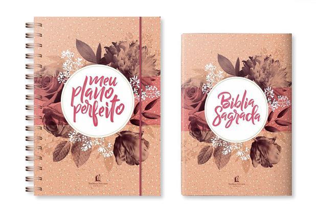 Imagem de Kit Bíblia + Planner: Meu Plano Perfeito