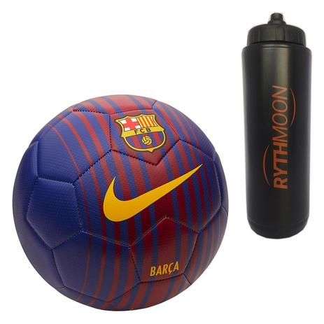 7feb788375 Kit Bola Futebol Campo Nike Barcelona Prestige SC3142 + Squeeze Automático  1lt - Rythmoon