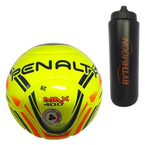 Kit Bola Futsal Max 400 Term VI Penalty + Squeeze Automático 1lt - Rythmoon 440b1d05792ea