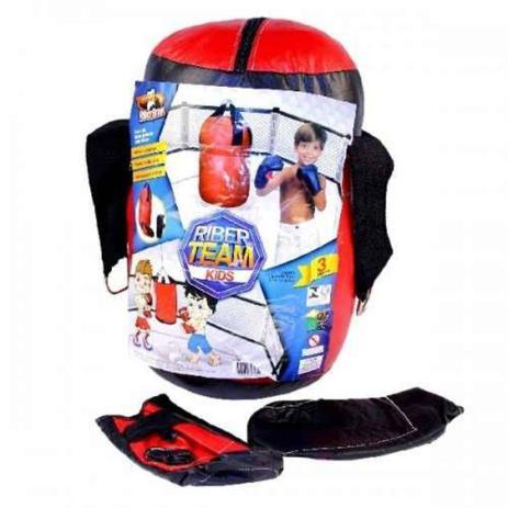 3ab0a06b6 Kit Boxe Infantil com Luvas e Saco de Pancadas - Riber brink ...