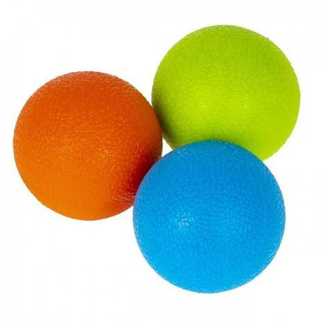 Kit C/ 3 Bolas De Massagem 5cm Liberação Miofascial Liveup - Liveup Sports