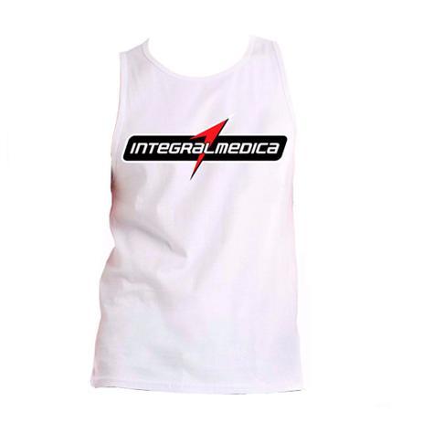 Kit Camiseta Integralmedica Vermelha + Regata Branca - Integramedica ... b84ada4aac5