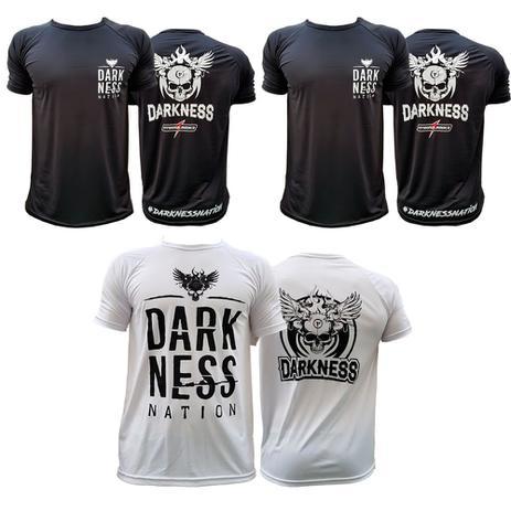Kit Camisetas Nation Preta + Darkness Branca Integralmedica - Integramedica 4ae210afd0ef9