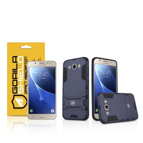 88e1c1d0dc1 Kit Capa Armor e Película de vidro dupla para Samsung Galaxy J7 Metal - Gorila  Shield