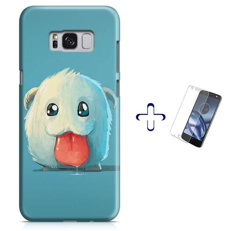 Imagem de Kit Capa Galaxy S8+ Poro League of Legends+Pel Vidro (BD01)