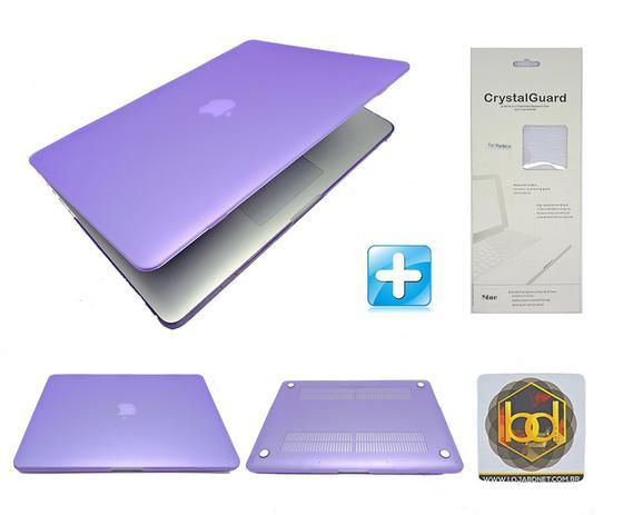 Imagem de Kit Capa Hardcase Macbook Pro 15.4