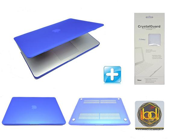 Imagem de Kit Capa Hardcase Macbook Pro Retina 15.4