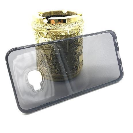 46ea27553 Kit capa TPU fumê + película de GEL para Asus Zenfone 4 Selfie PRO ZD552KL 5