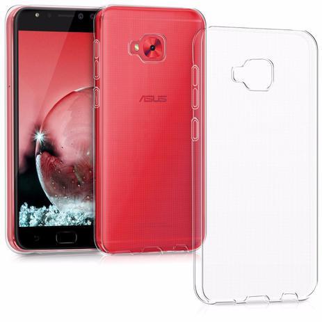c2406a96b Kit capa TPU transparente + película de GEL para Asus Zenfone 4 Selfie PRO  ZD552KL 5