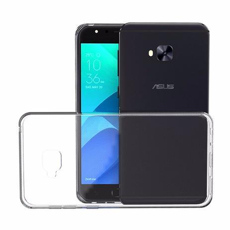 2992ef107 Kit capa TPU transparente + película de GEL para Asus Zenfone 4 Selfie  ZD553KL - H maston