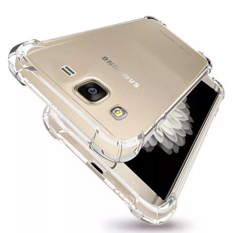 Imagem de Kit Capinha Antichoque + Película Gel Samsung Gram Prime G530