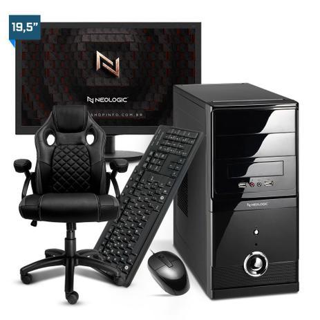 Imagem de Kit - Computador Neologic NLI82156 Ryzen 3 2200G 8GB SSD 120GB + Cadeira