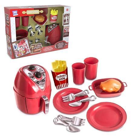 Imagem de Kit Cozinha Air Fryer Chef Kids Com 12 Peças Zuca Toys