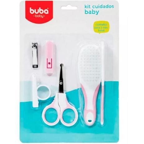 Imagem de Kit Cuidados do Baby Rosa - Buba