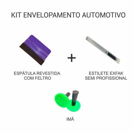 Imagem de Kit de Envelopamento Automotivo - Espátula + Estilete Semi Profissional + Imã