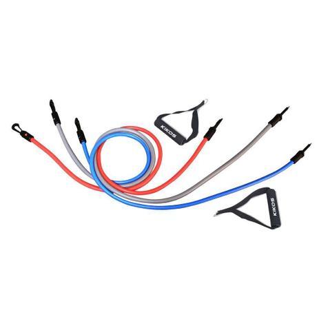 Imagem de Kit De Extensores Elastic Training Kikos Ab3210