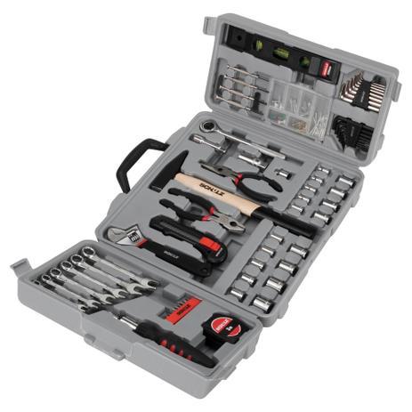 Imagem de Kit de ferramentas com maleta 160 peças