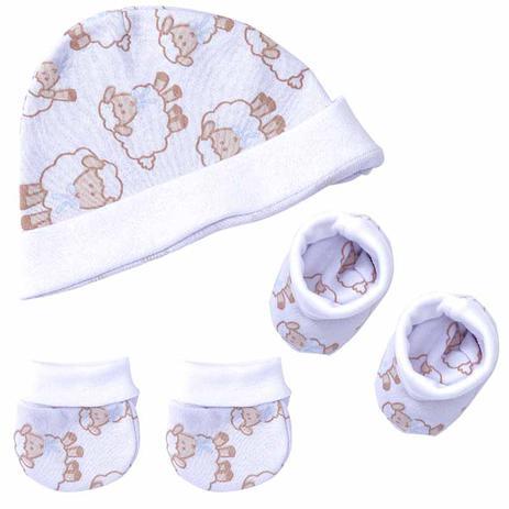 Kit de inverno para Bebê com touca 2006ea313da