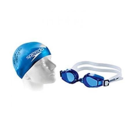 b8d780dc5 Kit de Natação com Óculos e Touca Infantil Speedo - Kit de Natação ...
