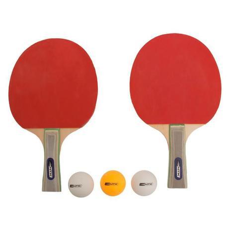 Kit de Ping Pong B com 2 Raquetes e 3 Bolas - Nautika - Kit Ping ... 4d485bf877cab