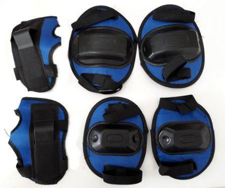 Imagem de Kit De Proteção Bel Sports Infantil Azul
