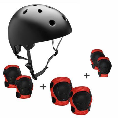 bb0e32861 Kit de Proteção Completo Para Patins