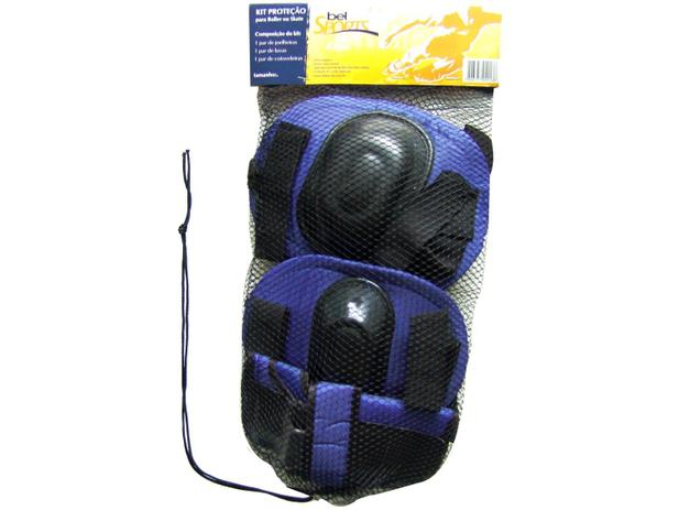 23416f355 Kit de Proteção Infantil para Roller ou Skate - Tam. M Bel Sports 411202