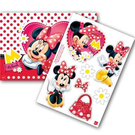 Imagem de Kit Decorativo Cartonado Minnie Vermelha Regina Festas