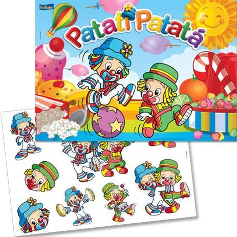 8770bb842 Kit Decorativo Cartonado Patati Patatá Baby FestColor - Kit ...