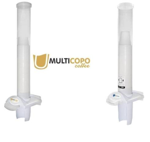 Imagem de Kit Dispenser Poupa Copo Água + Café Multicopo Nobre