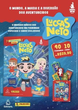 Imagem de Kit Envelopes com cromos - Luccas Neto
