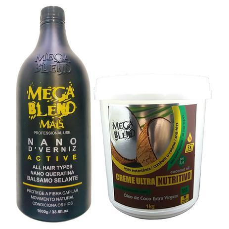 1bb56f097 Kit Escova Progressiva Mega Blend Sem Formol + Mascara Hidratante COCO 1  Kilo