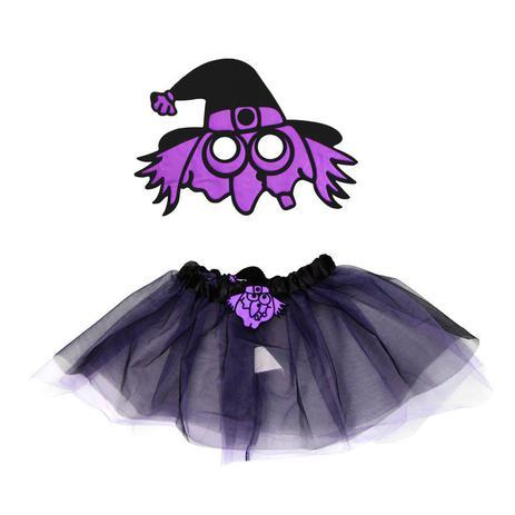 d4fe1f38b Kit Fantasia Infantil Bruxa Halloween - Festabox - Fantasia Infantil ...