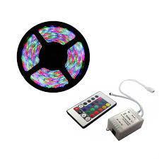 Menor preço em Kit Fita LED Colorida RGB INCIDENTAL Modelo 3528 com 20m (4 rolos) com acessórios - Diversos