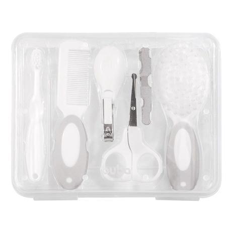 Imagem de Kit Higiene Buba Cuidados para Bebê com Estojo Branco