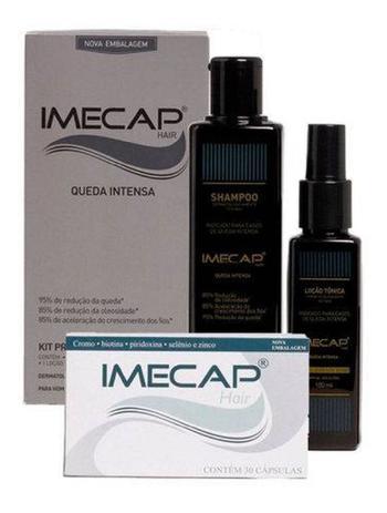 Imagem de Kit Imecap Hair Queda Intensa Original C/ Nota