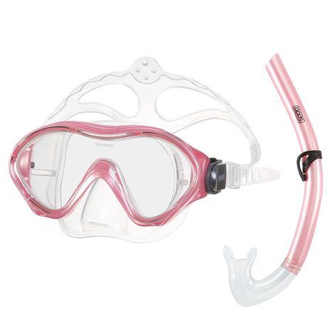 Kit Infantil De Máscara E Snorkel Para Mergulho Rosa Claro Speedo ... 0c33f2e22c1fd