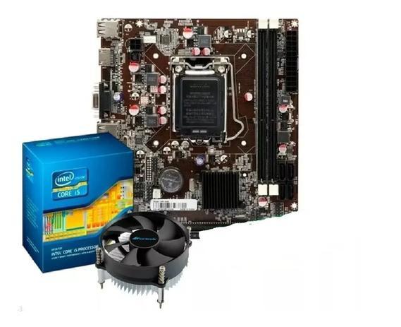 Imagem de Kit Intel Core I5 2400 3.1 Ghz + Placa H61 + Cooler
